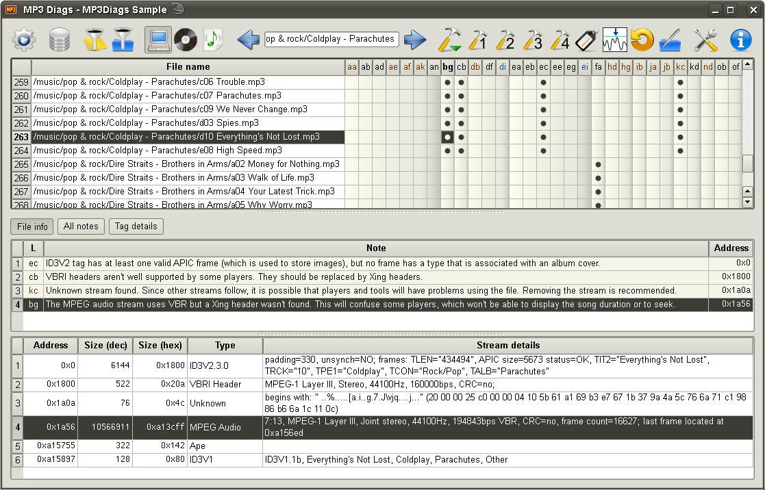 MP3 Diags 1.3.04 Unstable full